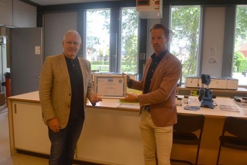 Greijdanus Hardenberg krijgt certificaat voor nieuw techniekonderwijs