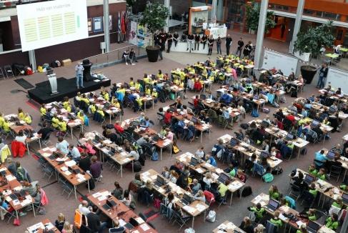 'Basisschoolkinderen ontdekken het programmeren door Het geheim van Zwolle'