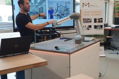 Boeiende gastles Robotica als resultaat van een mooie samenwerking