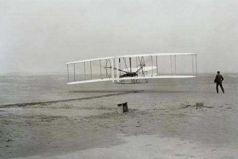 Helden uit de Techniek: Gebroeders Wright en hun 'Flyer'