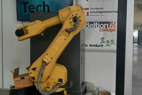 Techlab Zwolle krijgt fanucs van Beumer Group