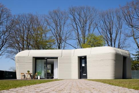 Slimme handjes: een 3D-betongeprint huis!